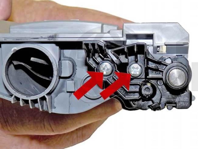 Инструкция по заправке лазерного картриджа