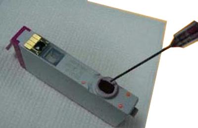 инструкция по установке картриджей в принтер hp 6525
